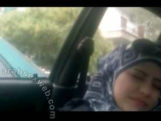 voyeur, di luar rumah, arab