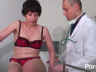 brunett, små-bröst, avsugning