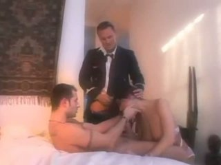Naughty Slut Double Dicked By Pilots