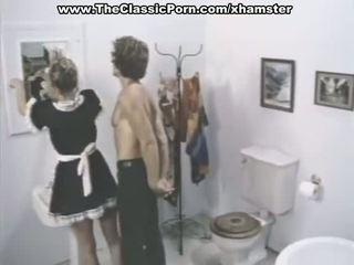 Clasic porno scene în o baie