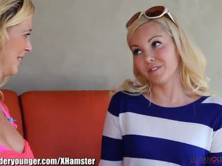 LesbianOlderYounger Aaliyah Love Eating MILF Out