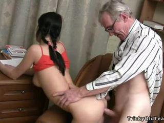zasraný, student, hardcore sex