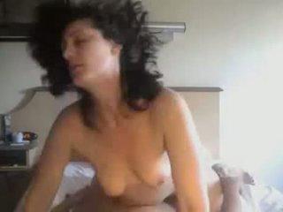 Amatöör paar keppimine sisse privaatne ise filmitud video