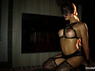 Nicole aniston perses sisse a mask