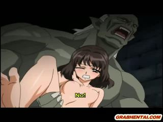 Hentai prinzessin brutally groupfucked von ghetto monsters