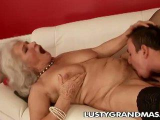 奶奶, rimjob, 毛茸茸的貓