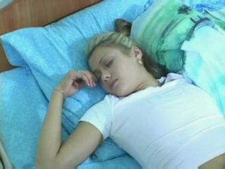 若い, ボーイフレンド, ベッド
