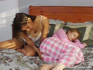 leszbikus, xvideos, alvás