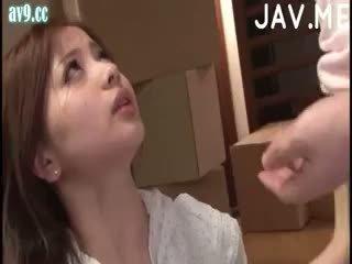 일본의, 아기, 사정
