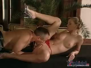 Maya Gold gets busy on top of her man