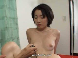 امرأة سمراء, اليابانية, شرجي