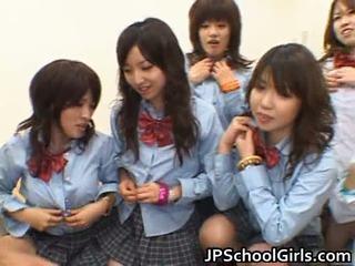 เอเชีย schoolgirls having ก้น เพศ โป๊