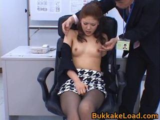 Aya matsuki hawt sự rút lại á châu búp bê enjoys