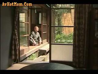 japānas, tētis, meita