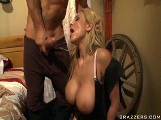 Alanah rae appreciates the cowgirl edasi the rod