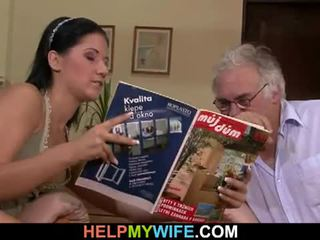Hubby calls een guy naar neuken zijn vrouw