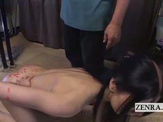 Ekstrēms japānieši bdsm karstās wax spēlēt subtitled