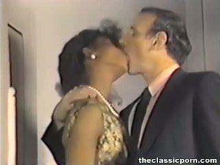 Špinavé retro film s príťažlivé sex fest