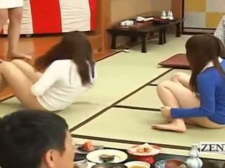 Subtitled bottomless japans embarrassing groep spelletje