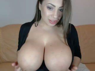 bộ ngực to, webcam, tits tự nhiên lớn