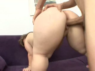 Midget slut jumping on cock and squirting a lot
