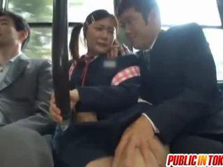 Cenzurovaný japonská autobus trio