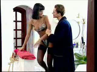 Anita 금발의 takes a 큰 수탉 에 그녀의 바보 비디오