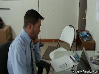 kontor sex, vaba punane porno