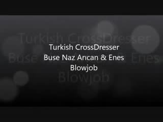 Turki buse naz arican & gokhan - mengisap dan hubungan intim