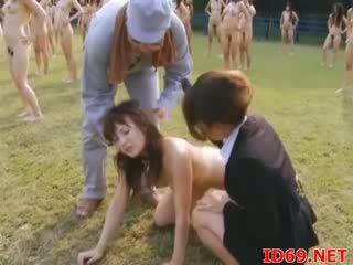 menghisap, telanjang, wanita