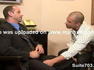 Bald геї girth і rod мати оральний і анал