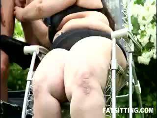 Gorda facesitting con jitka