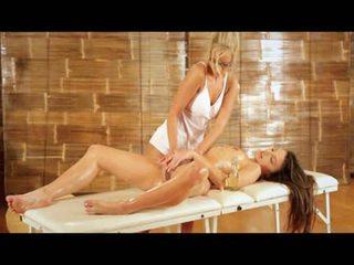 lesbian, erotic, massage