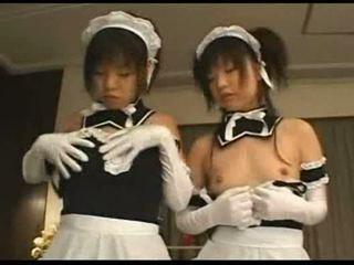 japanilainen, ryhmäseksiä, tyttö