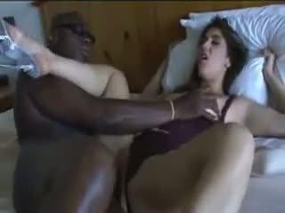 Çilli yüzme gets becerdin tarafından onu bbw metres lover üzerinde yatak.