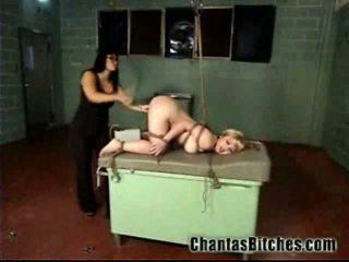 Shes nooit been tied omhoog voor!
