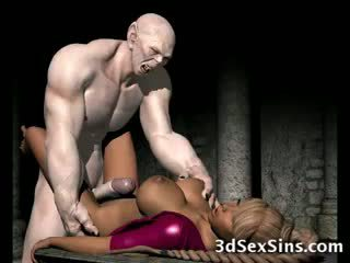 Frightening zombi fucks 3d vauva!
