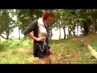 युवा फ्रेंच स्कूलगर्ल एनल banged में the woods: पॉर्न 80