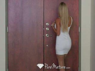 PureMature - Tall blonde milf Alexis Fawx fucked
