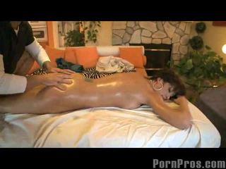 Orgasms par masāža tabula