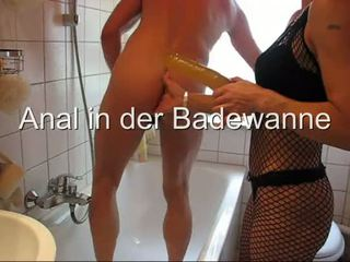Anaal in der badewanne