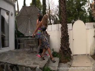 fucked hard by big cook, naughty couples exchange, drilled fast