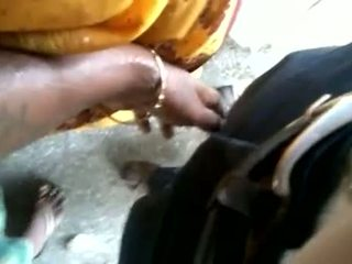 Indian Man Making Aunty To Touch Cock In Public Qu