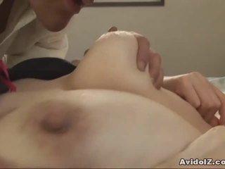 Ýapon betje eje gets fingered and fucked uncensored