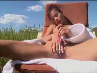 Nasty teasing of juicy goodies