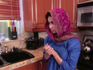 Arab Teen Ada Gets A Warm Pussy Cream