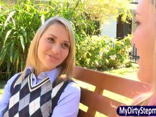 Mia eats sie stiefmutter brandi loves muschi