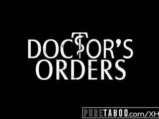 Pure taboe elena koshka breaks maagdenvlies met vies dokter