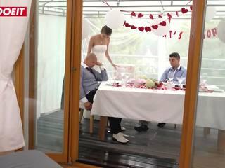 Letsdoeit - bruid gets banged door stap zoon bij haar huwelijk