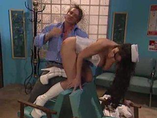 Doctor fucking nurse's ass